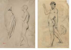 Studies by Edgar Degas and Pablo Picasso