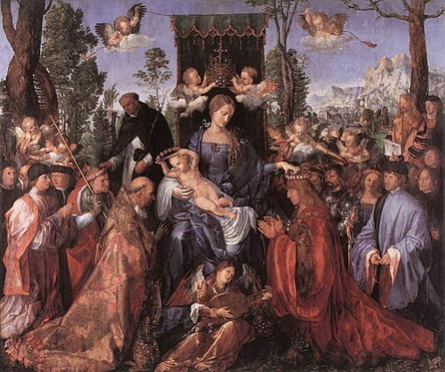 Albrecht Dürer, The Feast of the Rose Garlands, 1506